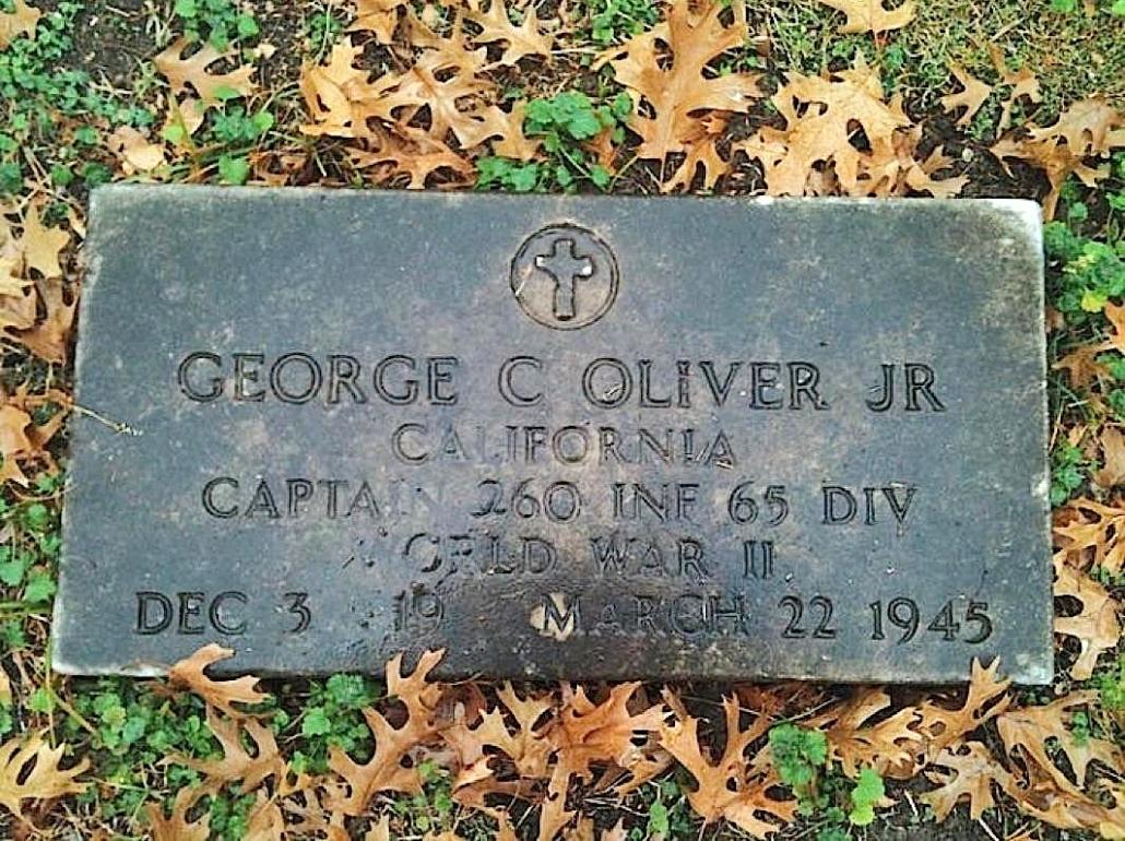 oliver gravestone