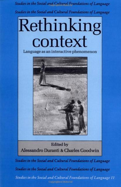 Rethinking Context